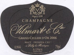 Vilmart & Cie 'Cuvée Grand Cellier D'Or' 2013 Image